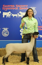 camarie and 1st place lamb