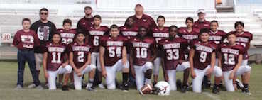 Junior High Football Team Is District Champ