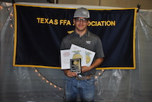 Chapter Farmer Is Brennon Garcia