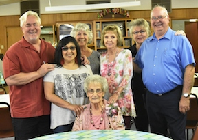 Joy Barham Celebrates 90th Birthday